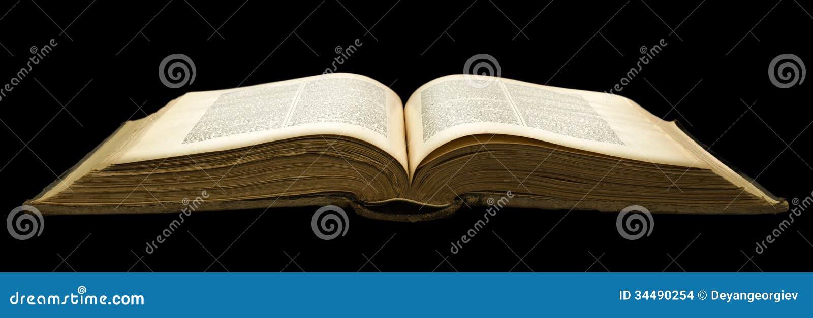 Раскройте старую книгу