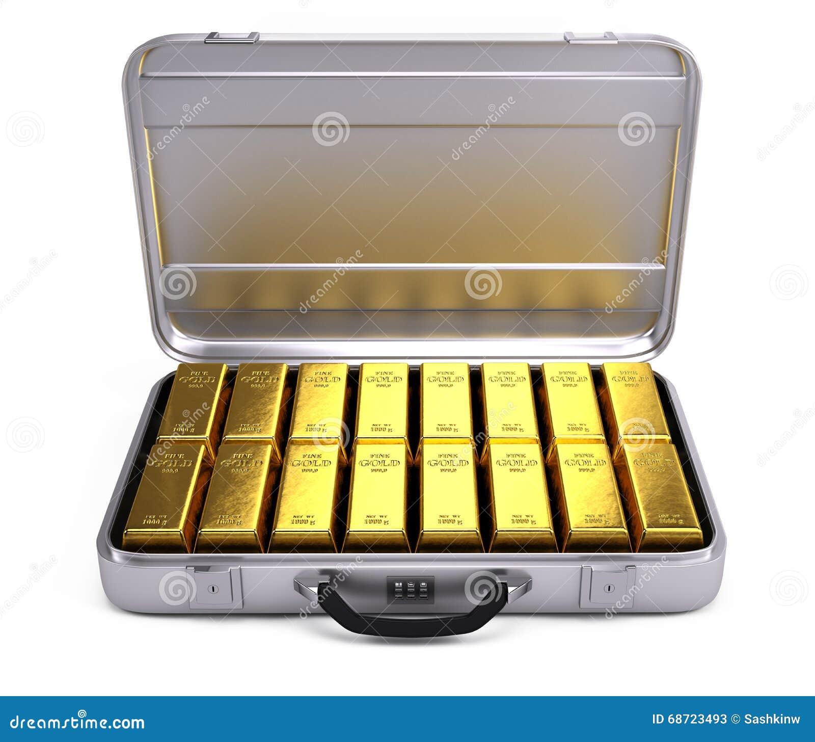 Раскрытый случай с золотом в слитках