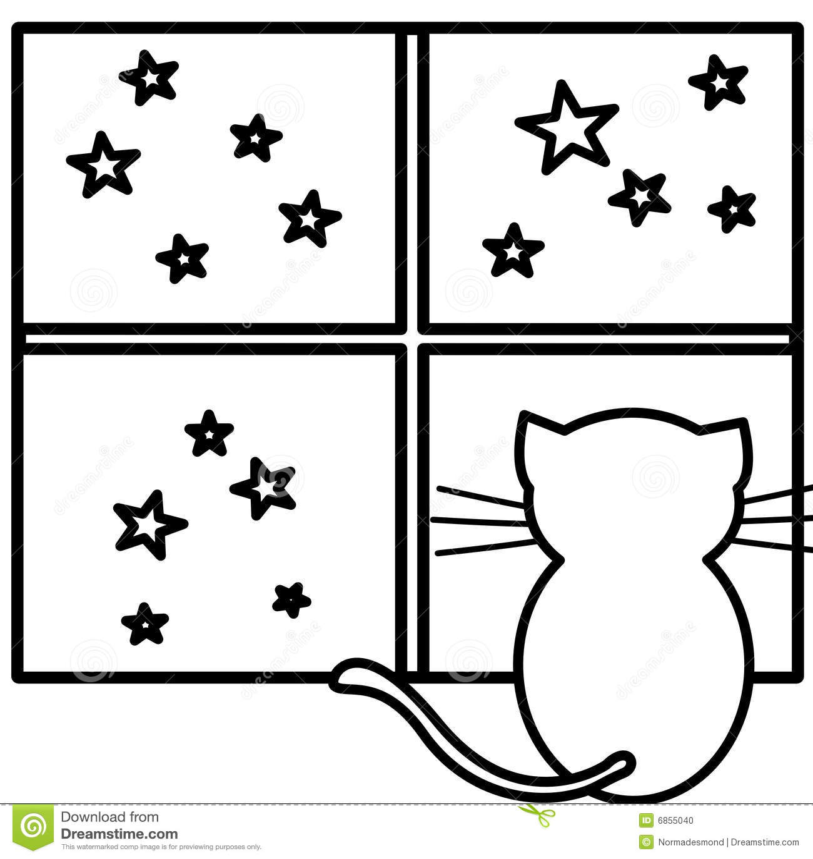 расцветка кота