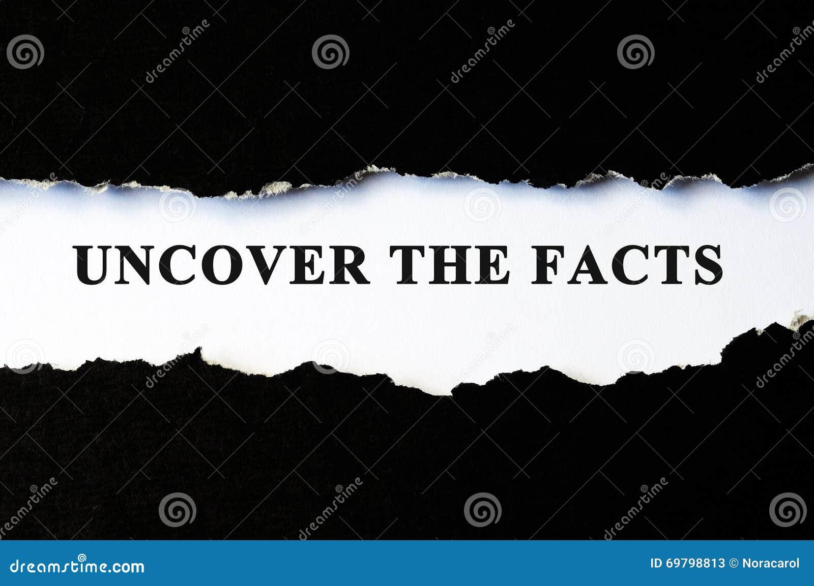 Расчехлите концепцию фактов