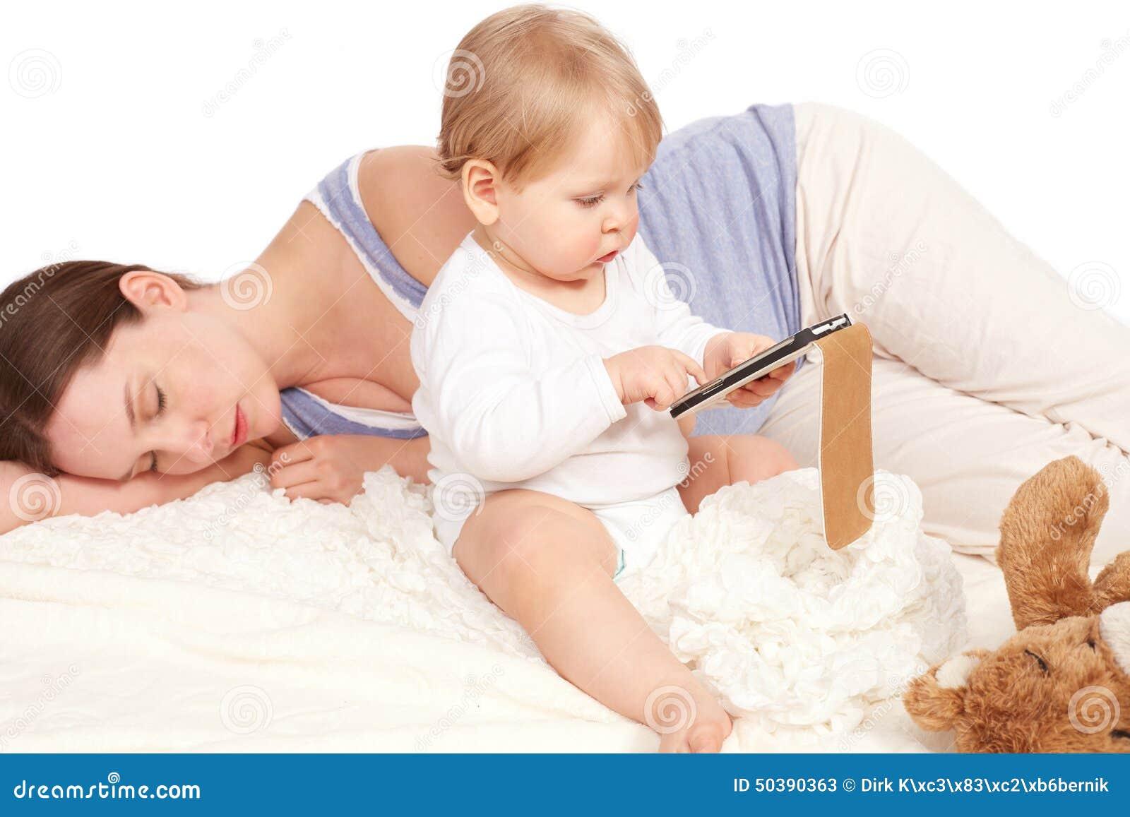 Пока мать спит