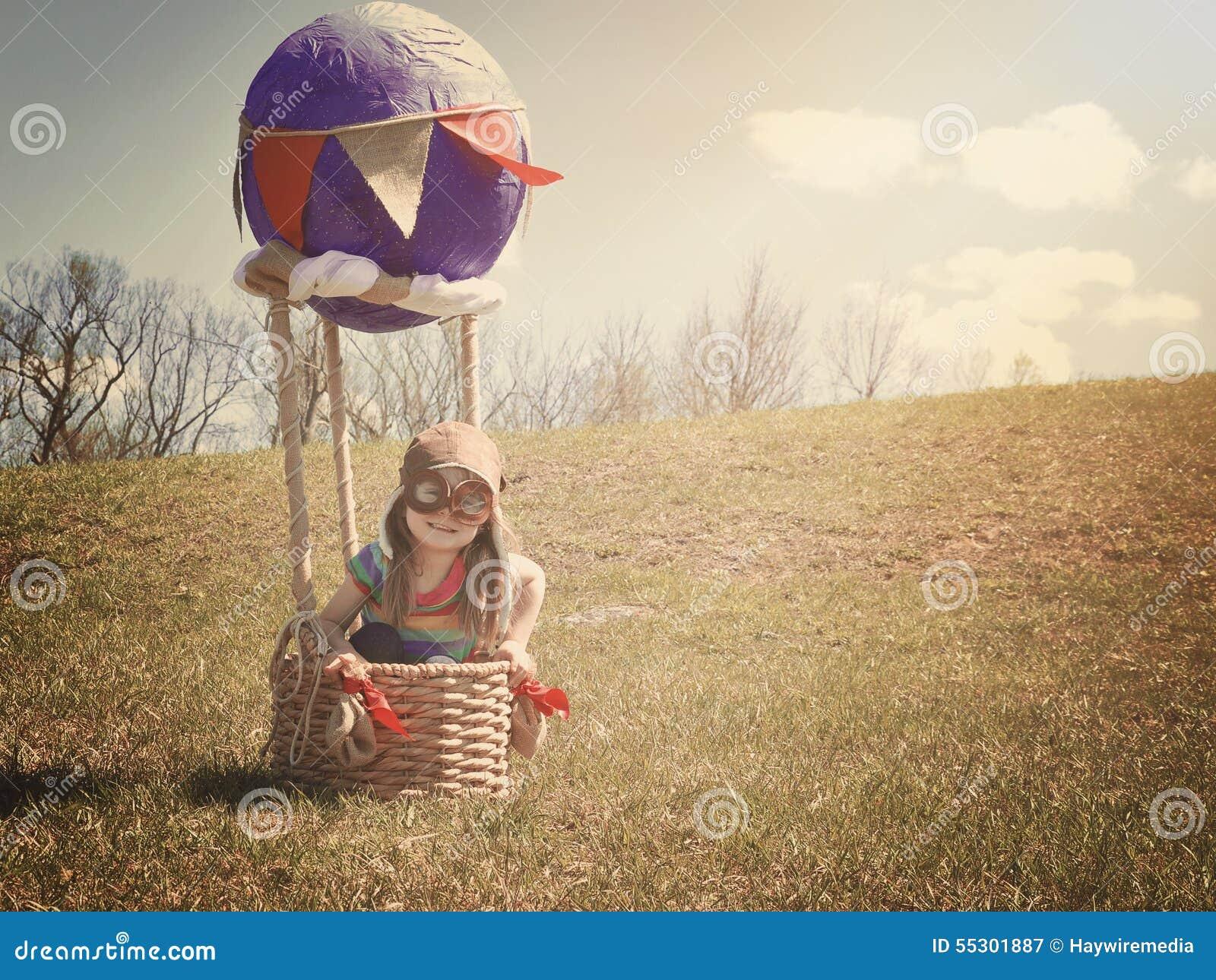 Воздушный шар и ребенок 66