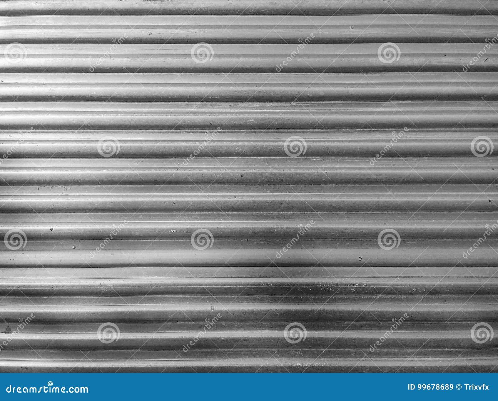 Ребристая предпосылка поверхности металла