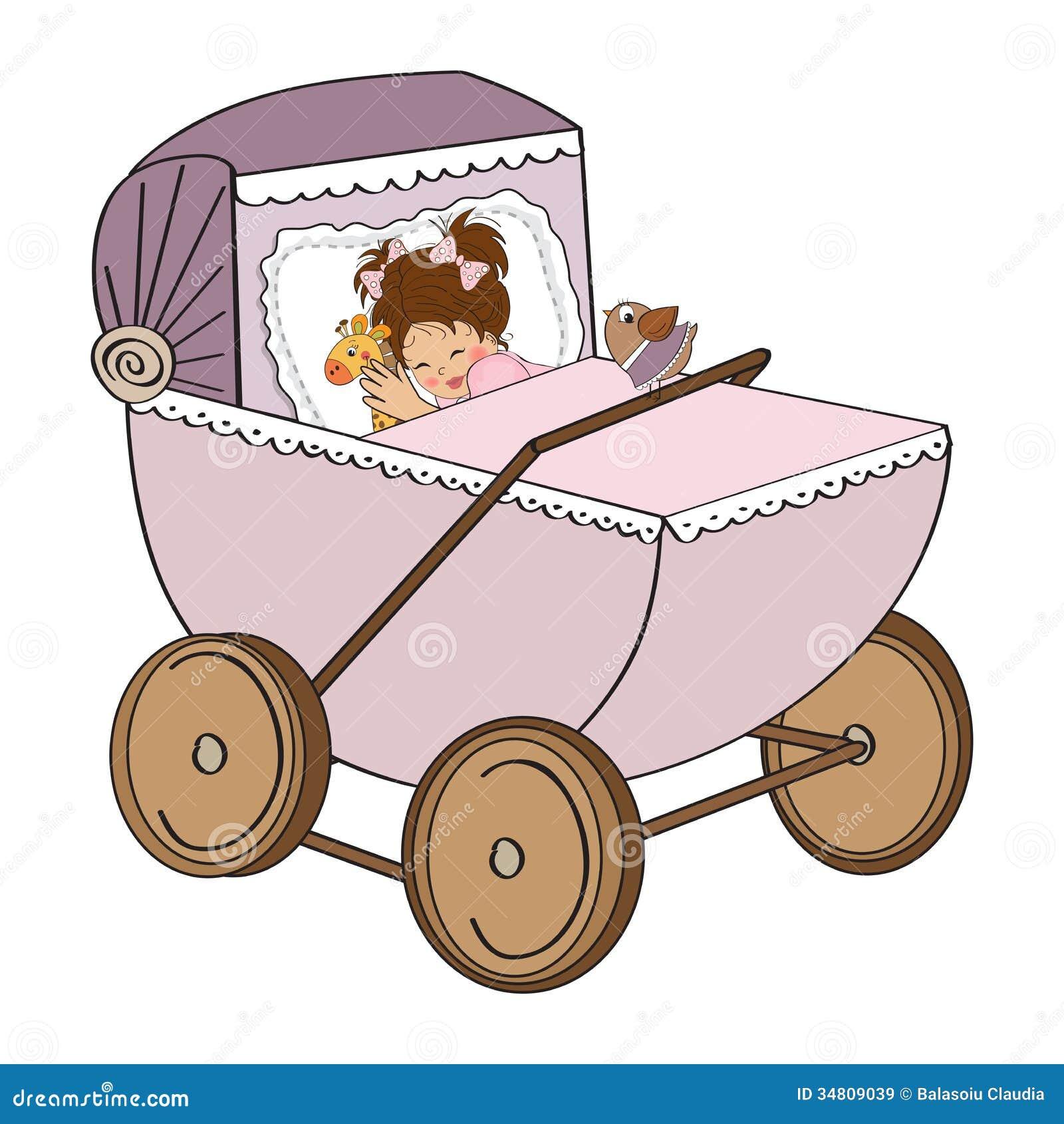 Открытки ребенок в коляске