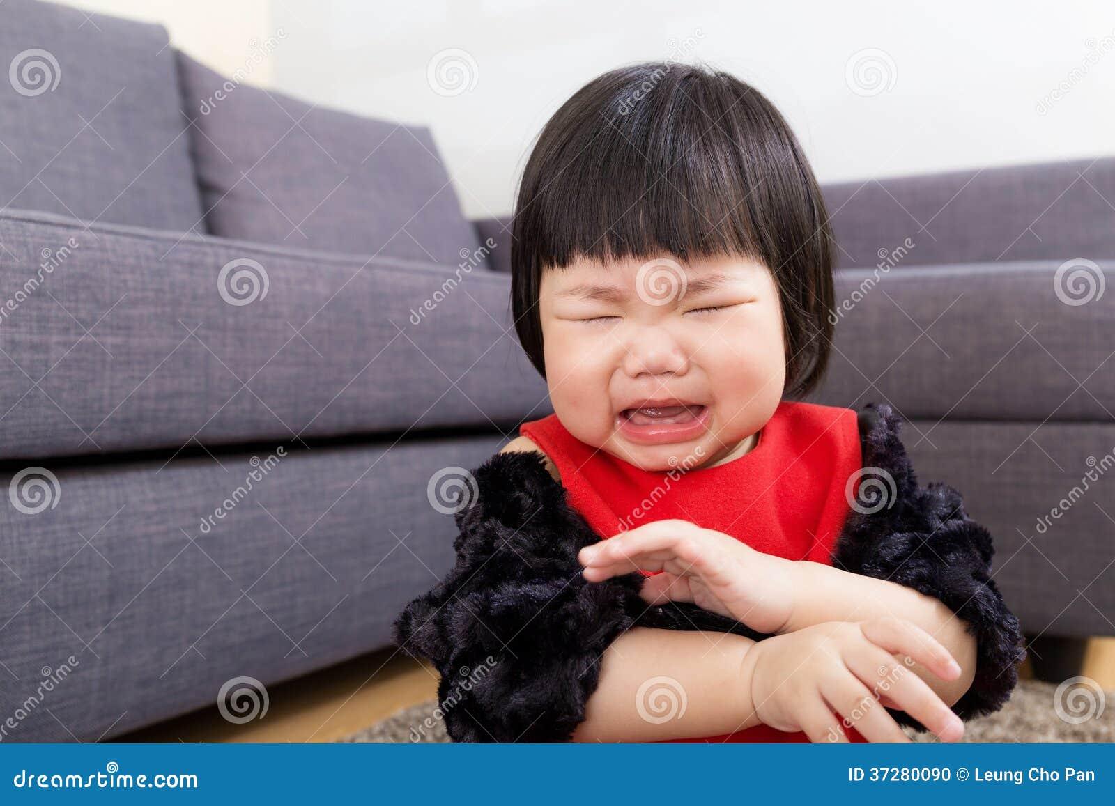 Ребёнок получает повреждение