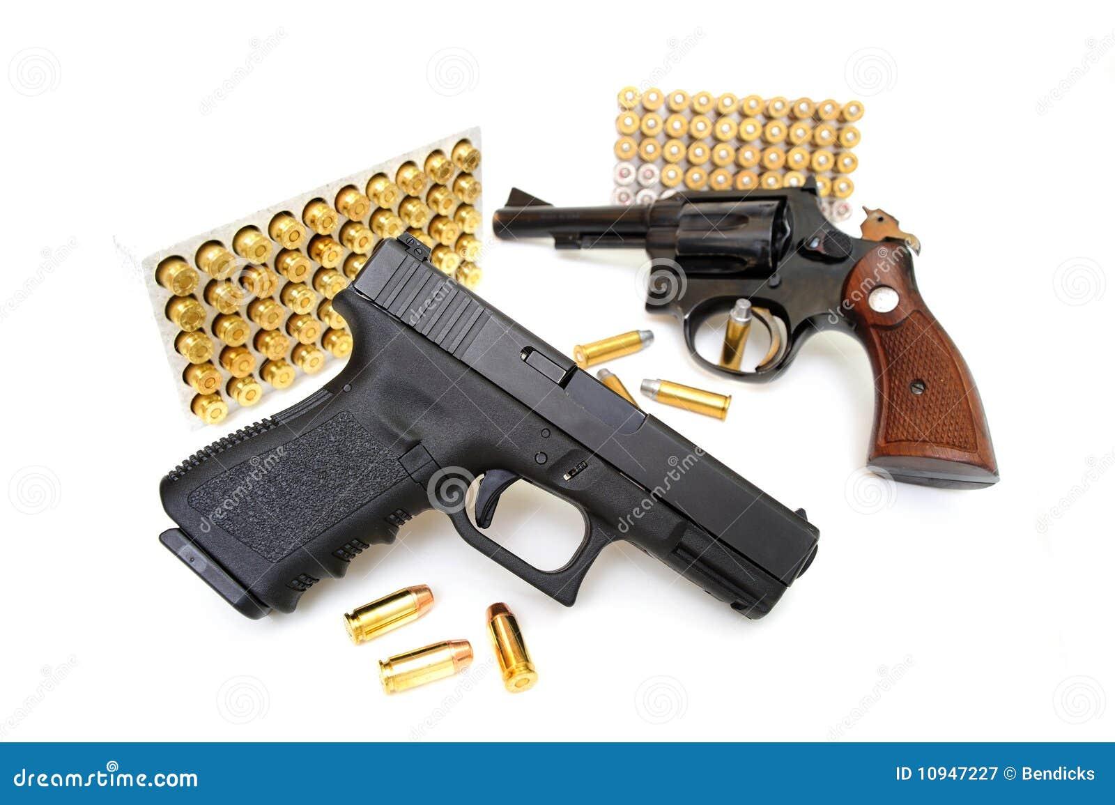 револьвер пистолета