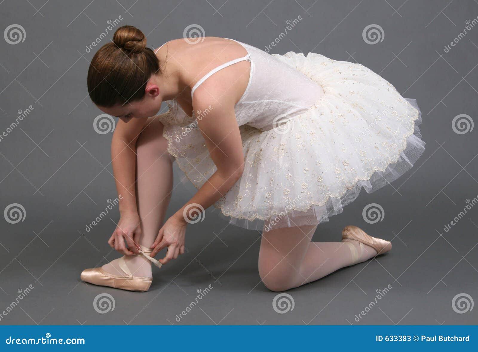 Download регулировать ботинок балерины Стоковое Изображение - изображение насчитывающей платье, bluets: 633383