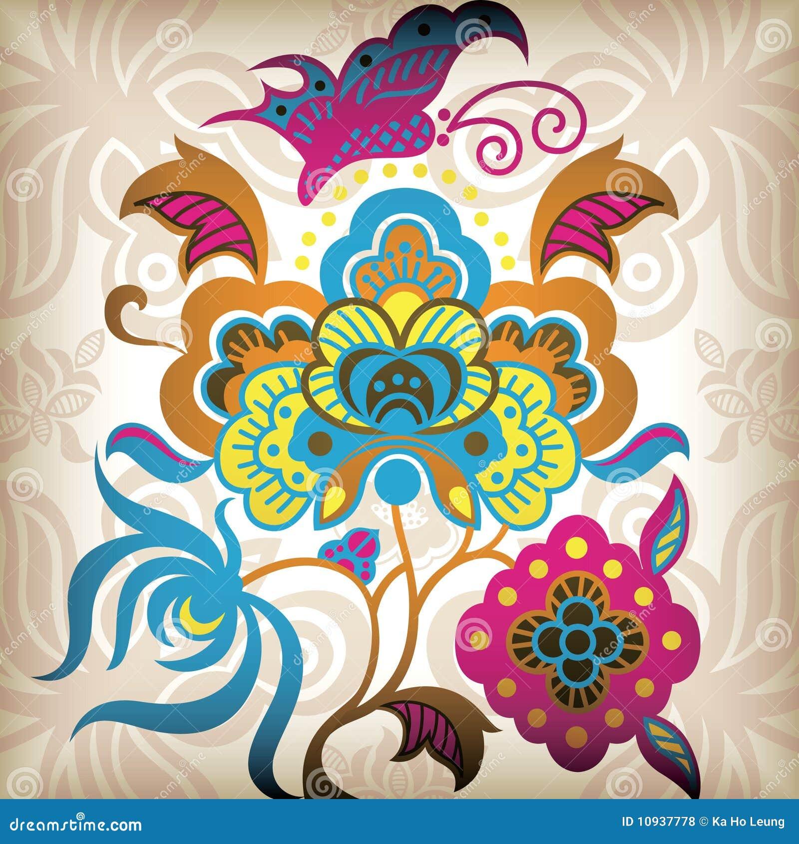 резюмируйте бабочку флористическую