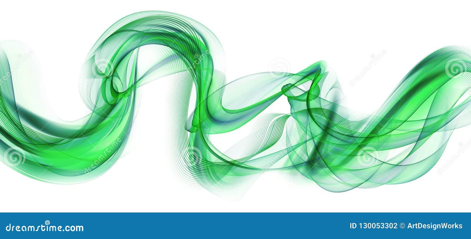 Резюмируйте развевая красивую предпосылку зеленого цвета