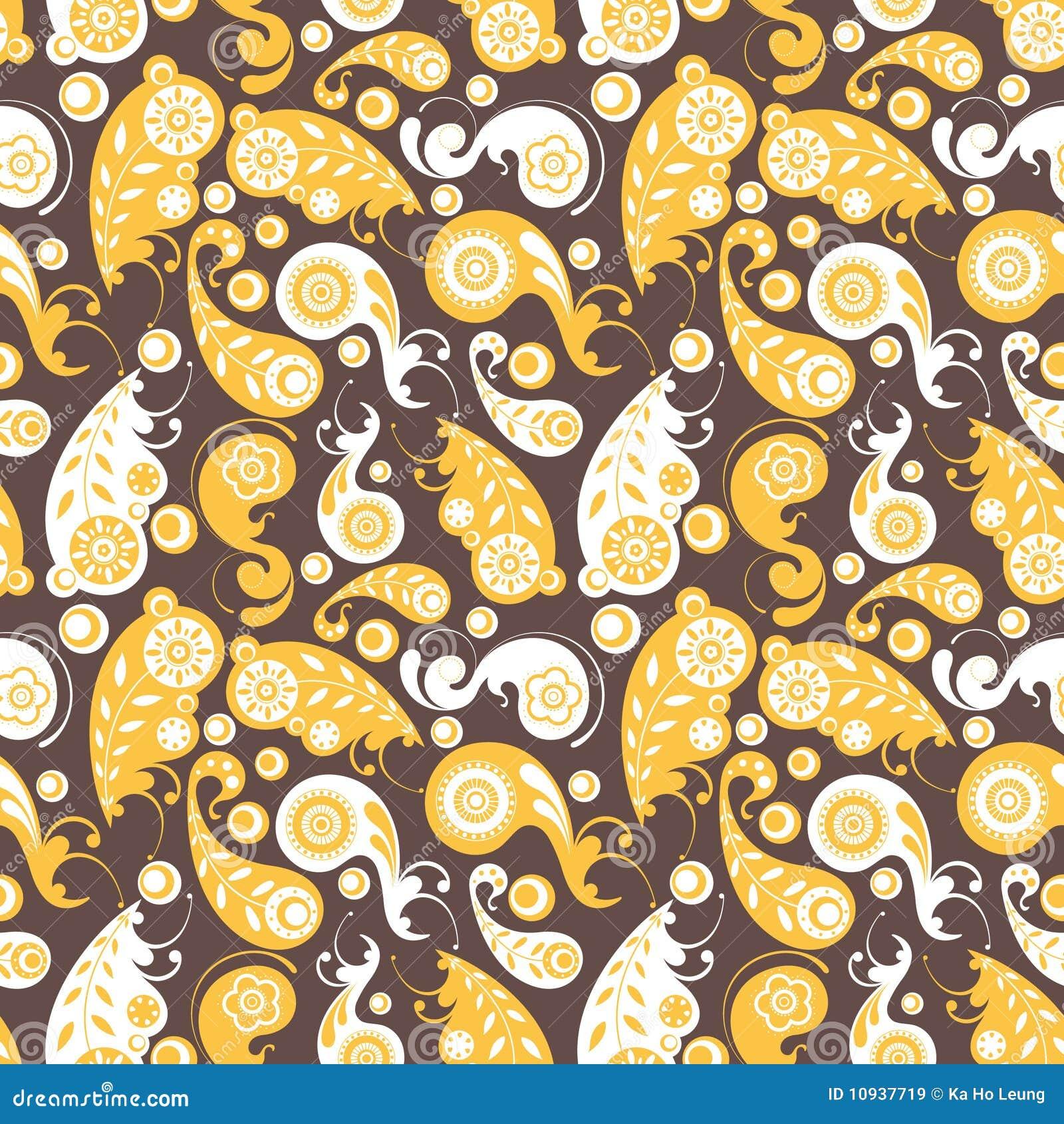 резюмируйте флористический желтый цвет картины