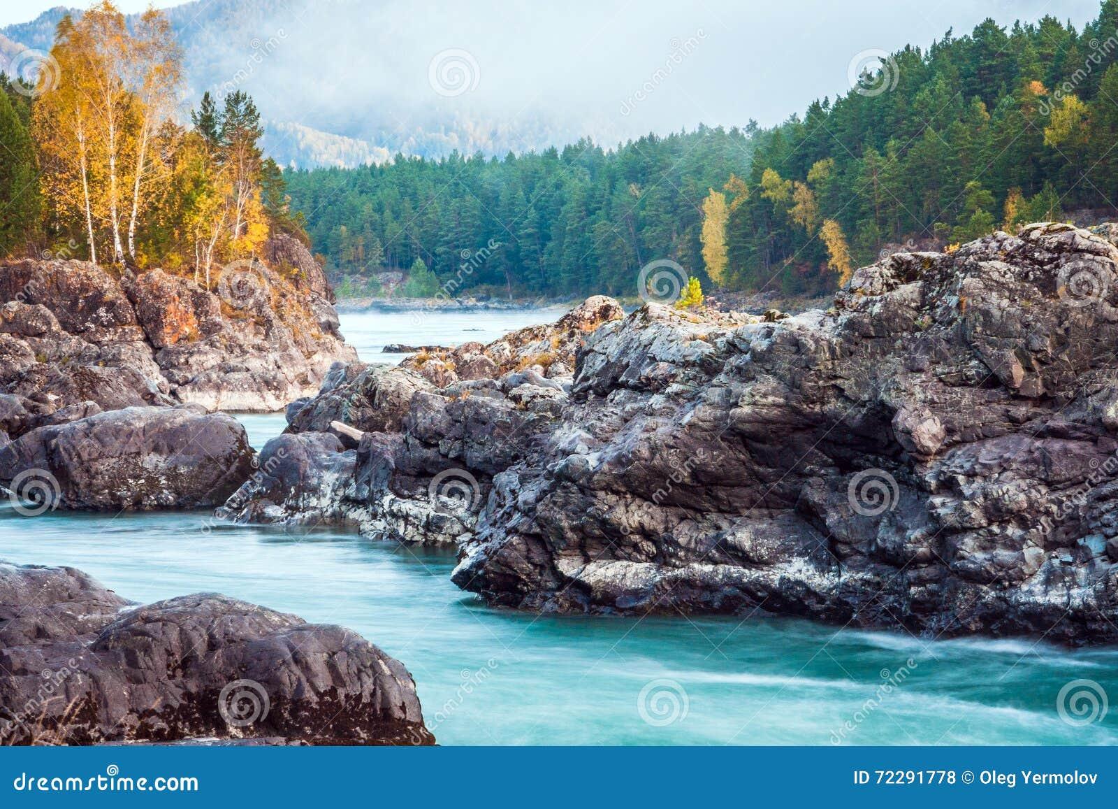 Download Река горы с утесами стоковое фото. изображение насчитывающей environment - 72291778