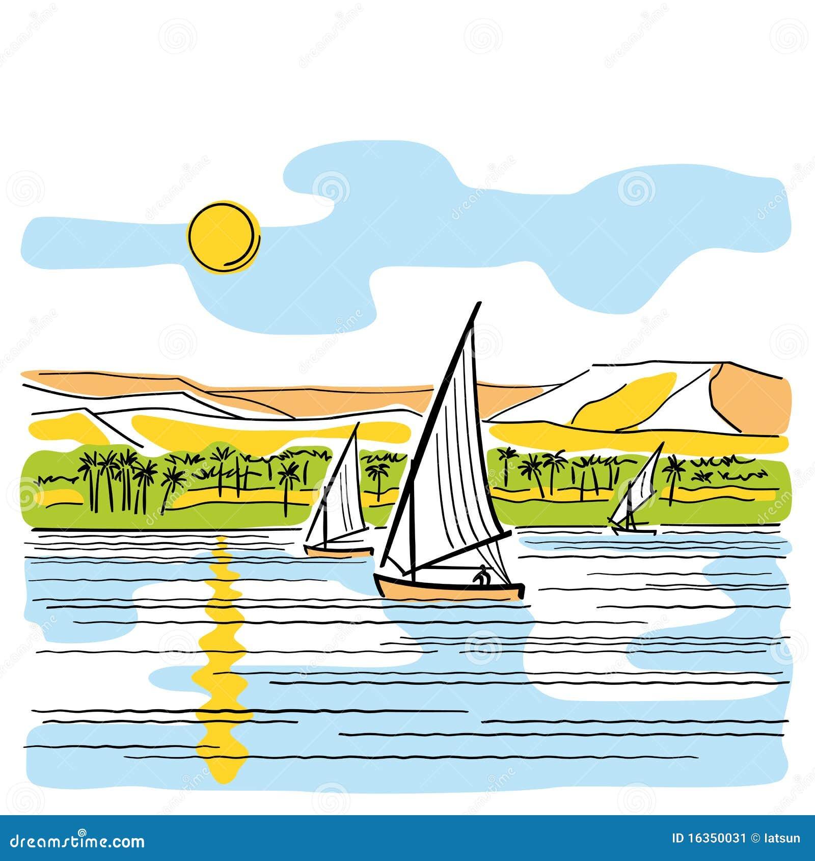 река Египета Нила