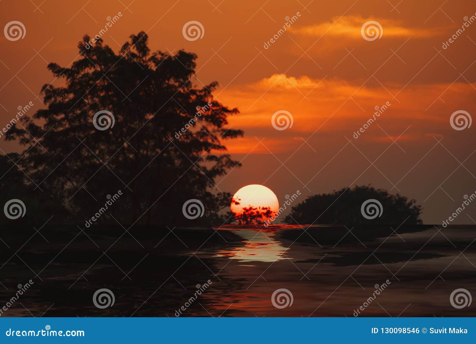 Река захода солнца