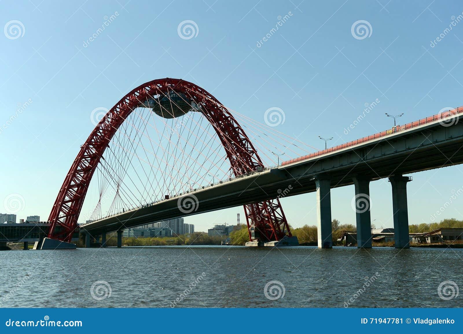 Река Москвы Взгляды живописного моста