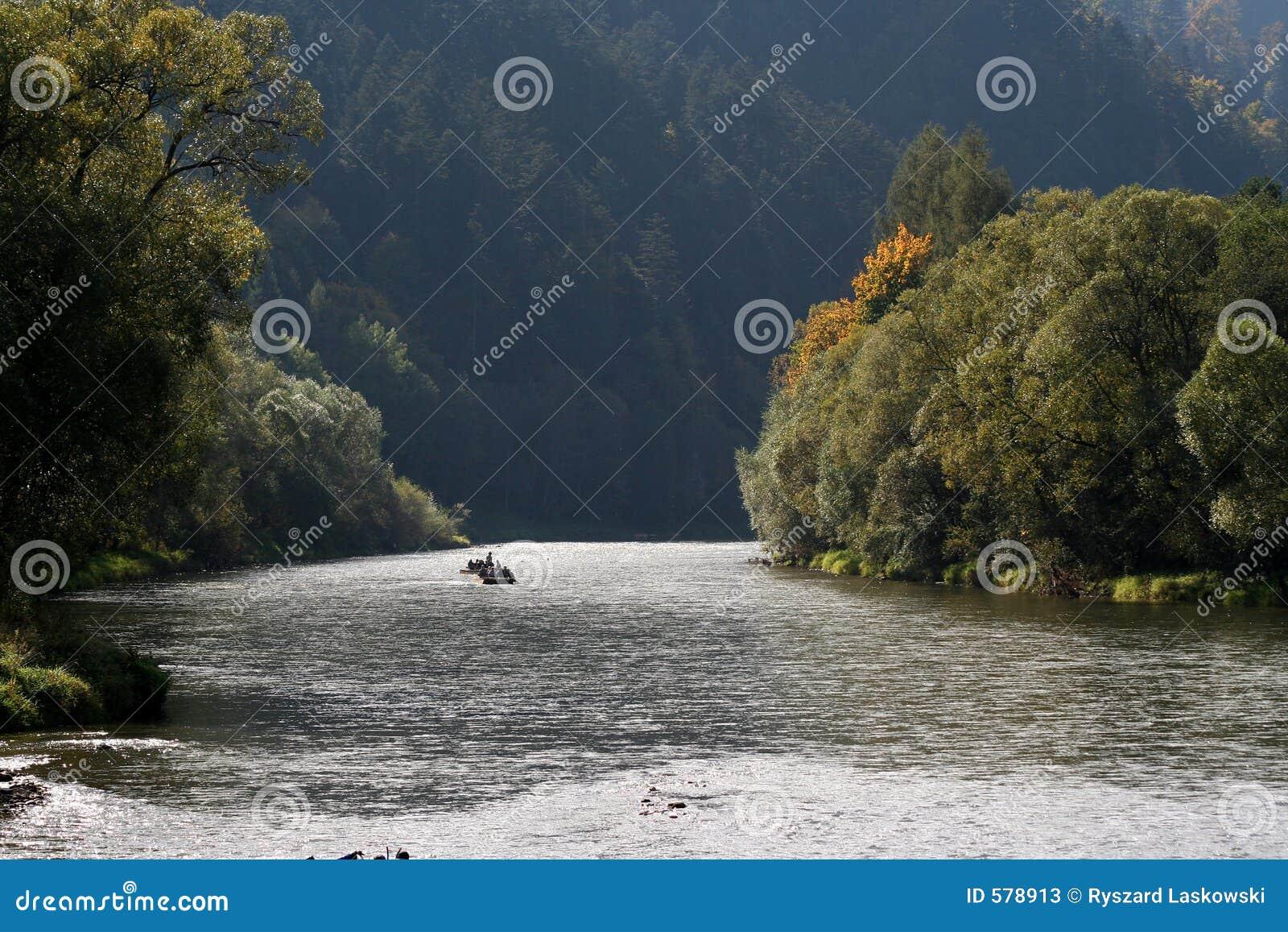 река Польши dunajec