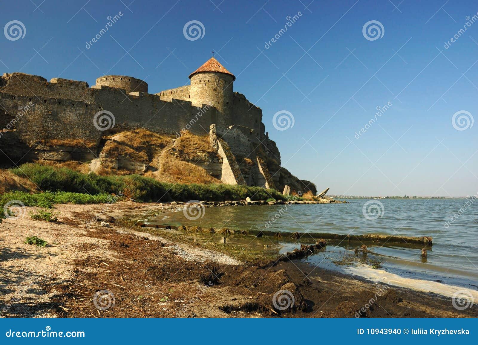река Украина крепости банка старое