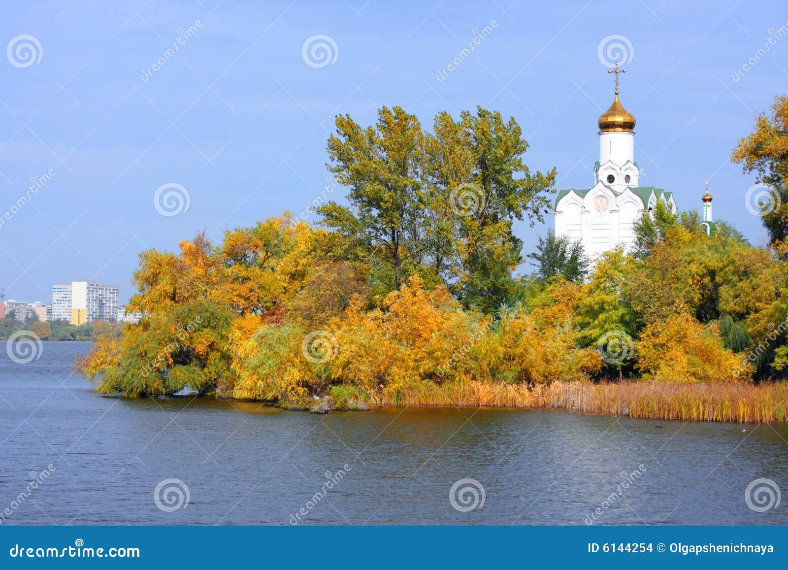 река церков
