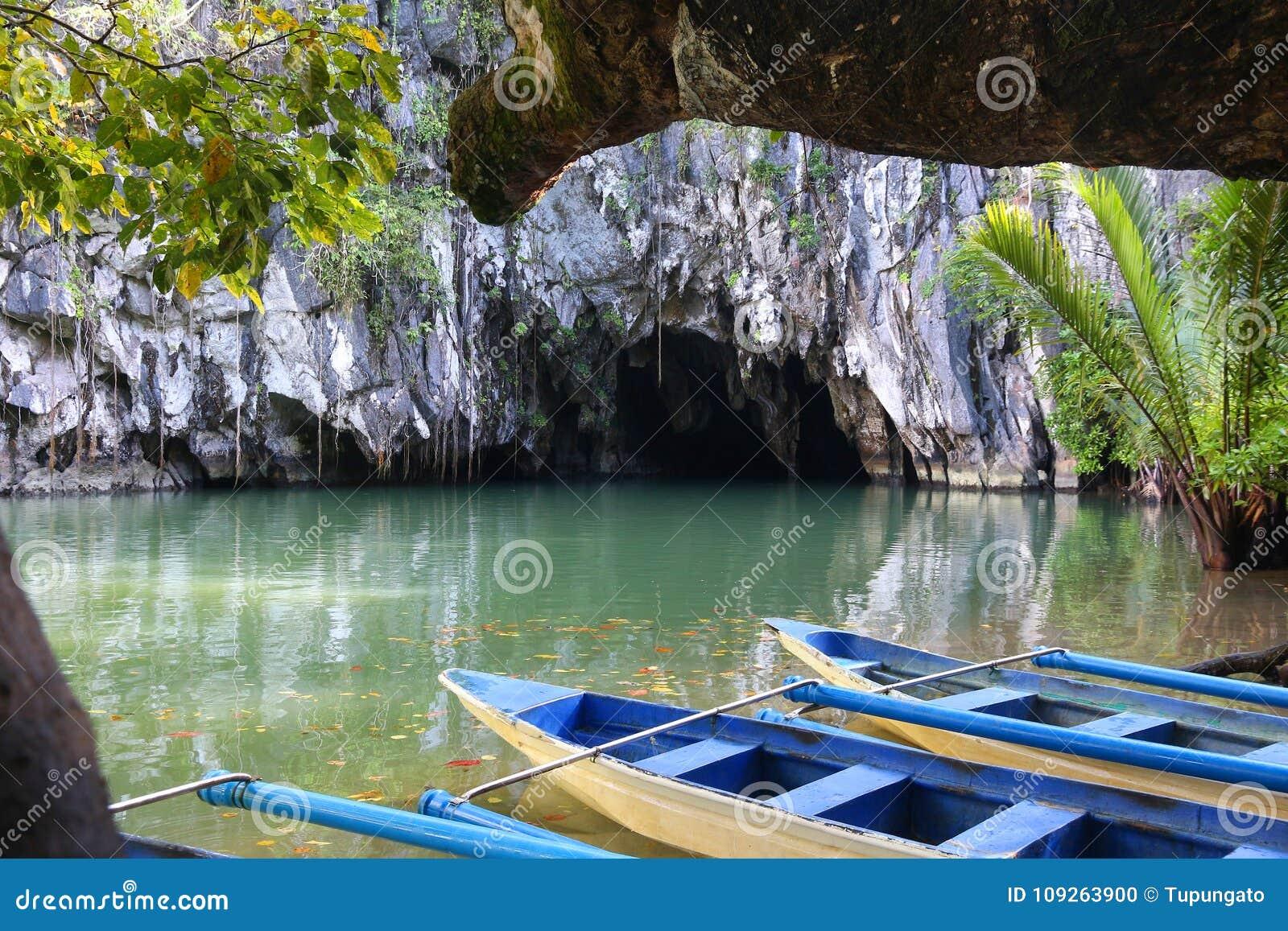 река puerto princesa подземное