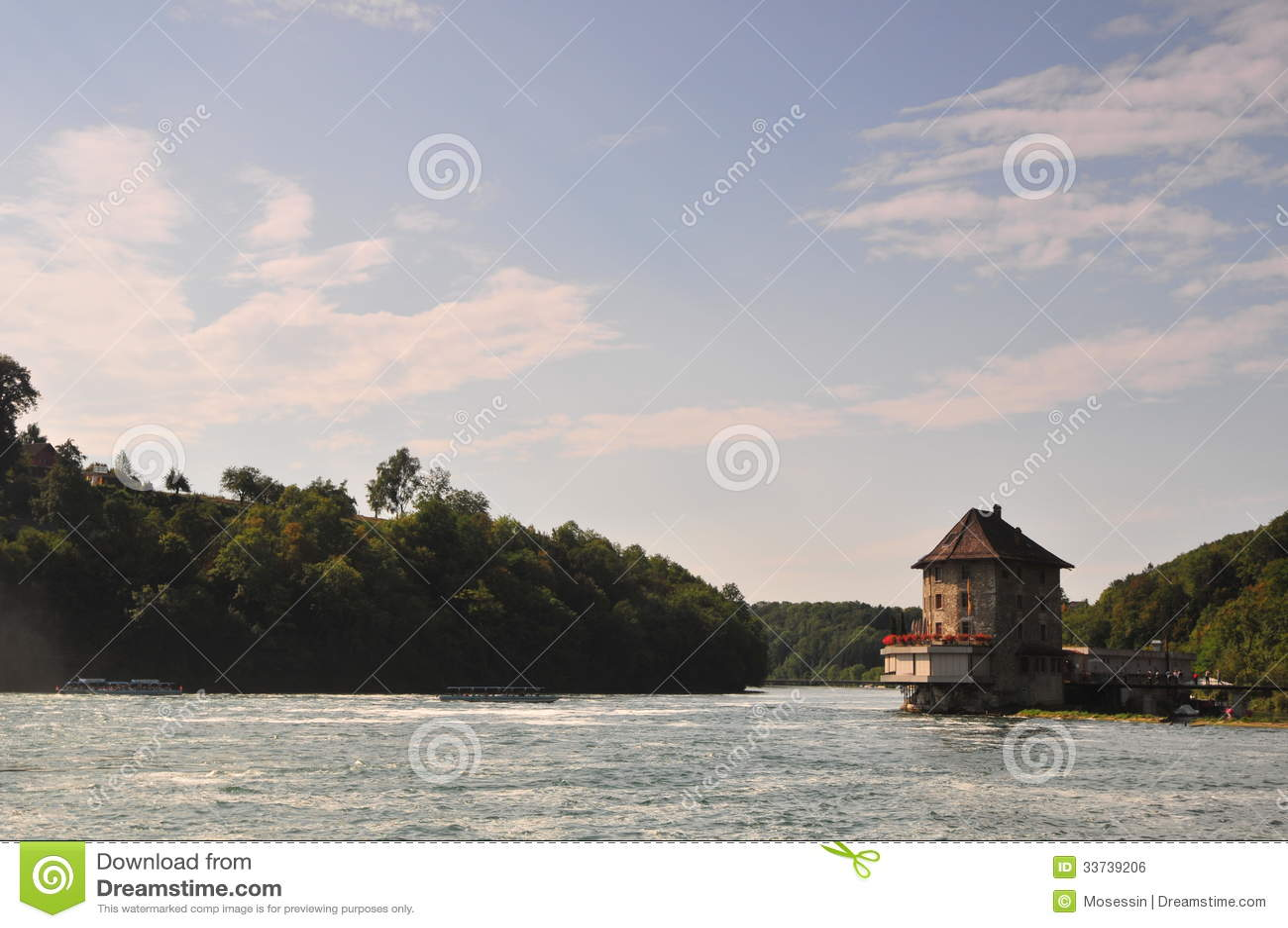 Река Shaffhuzen