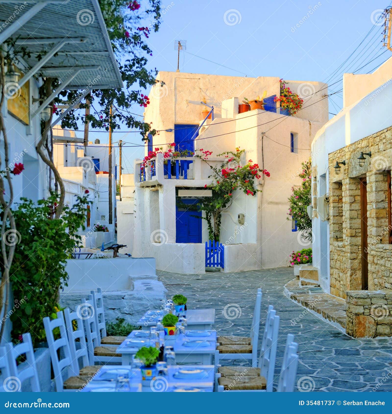 Ресторан на Folegandros