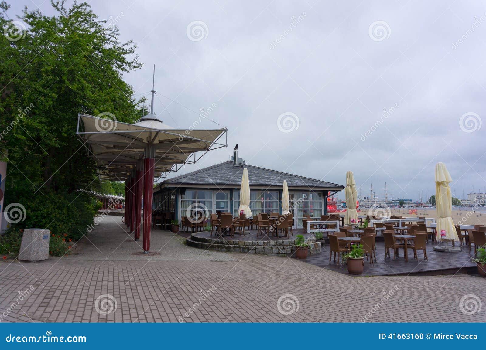 ресторан пляжа