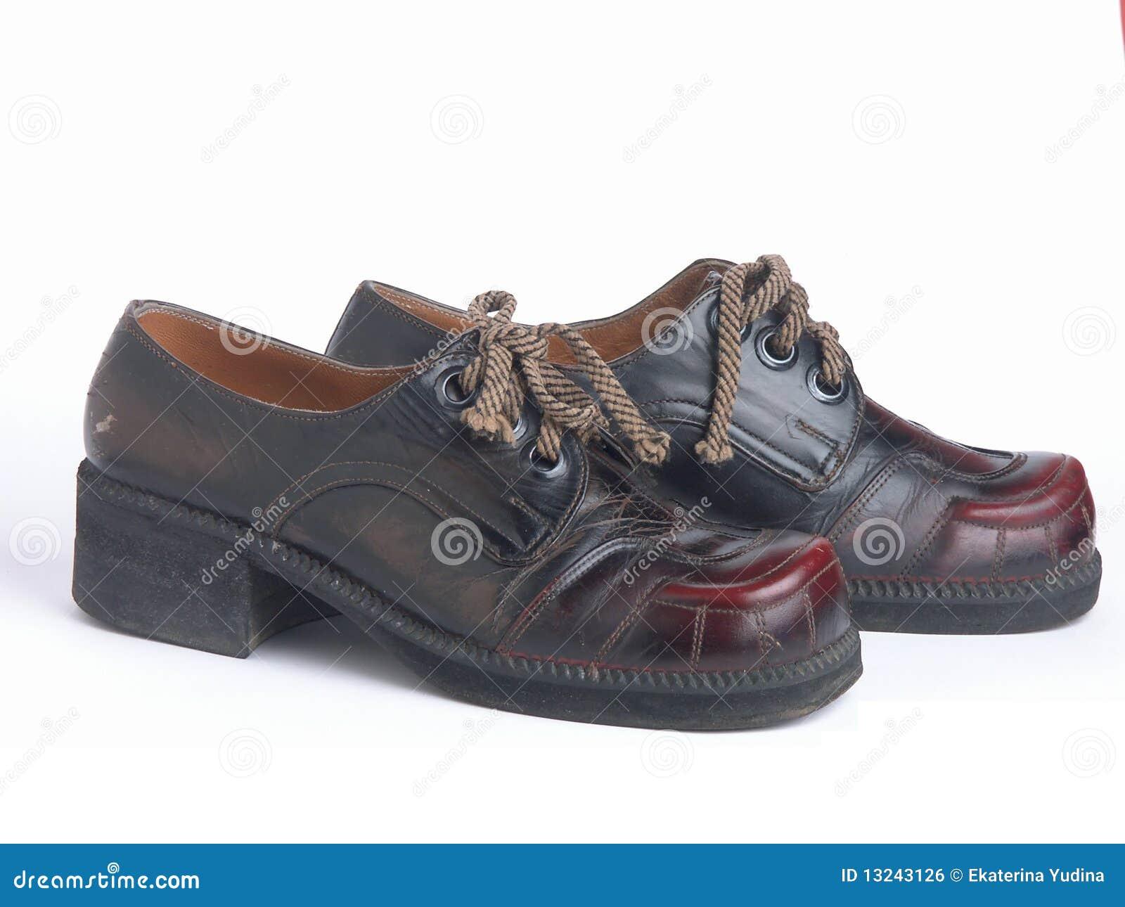 ретро ботинки
