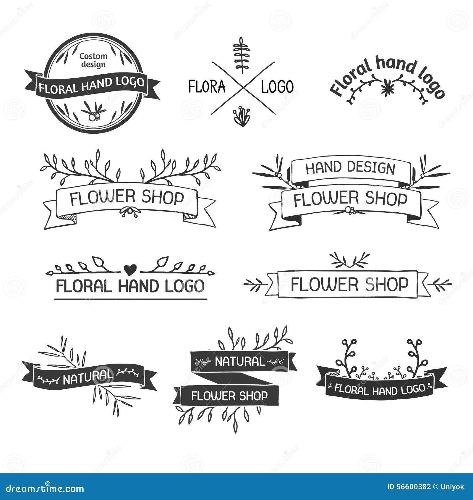 Ретро винтажные Insignias или логотипы установленные с