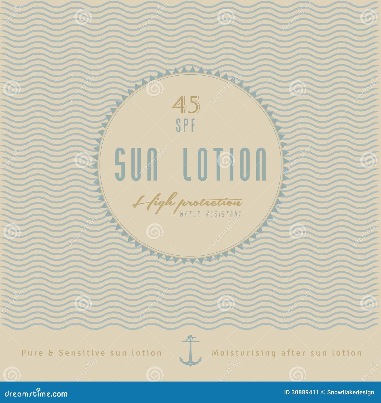 Ретро дизайн ярлыка лосьона Солнця/ретро, винтажный хлев