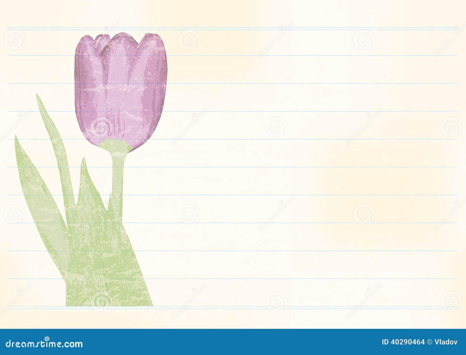 Ретро поздравительная открытка