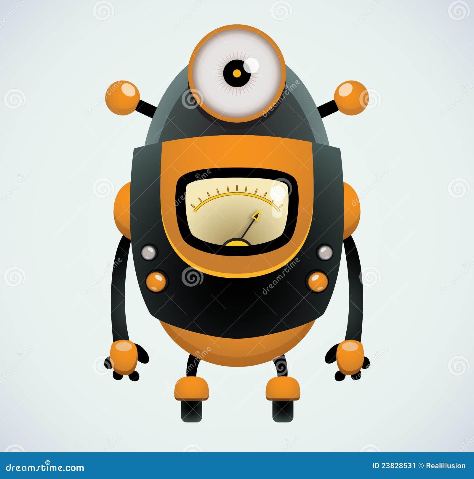 ретро робот
