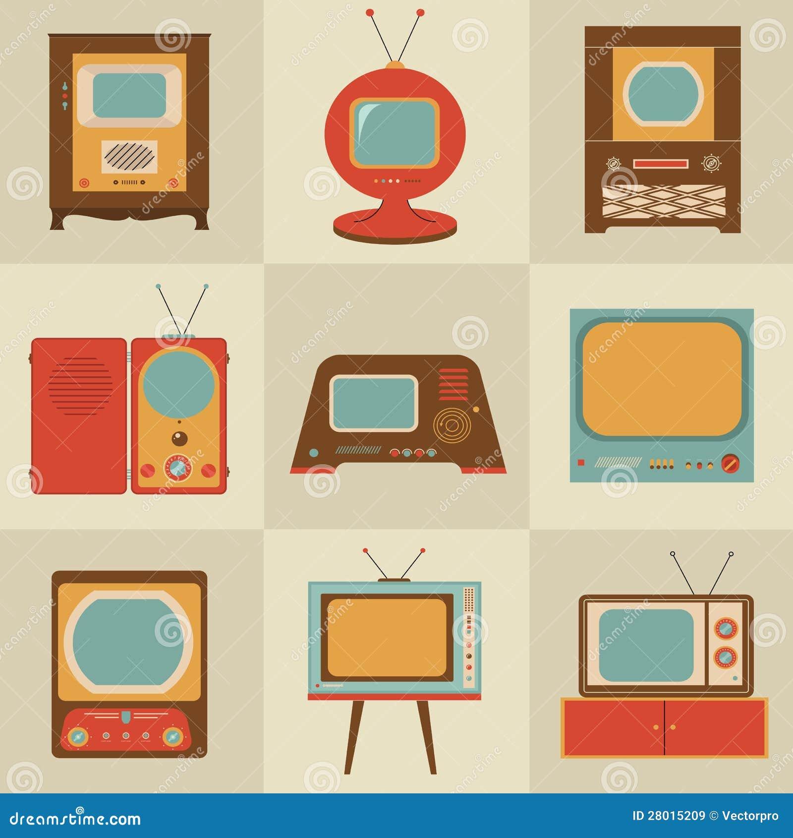 Ретро телевизор год сбора винограда