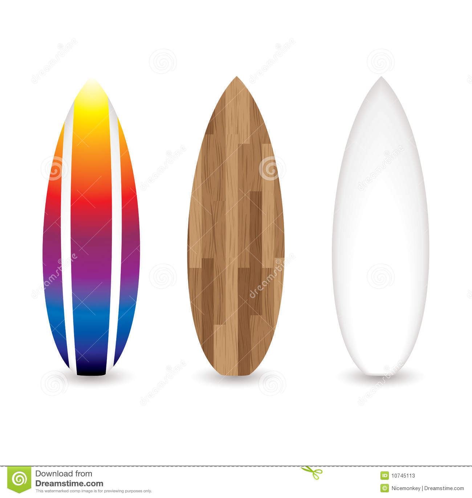 ретро surfboards