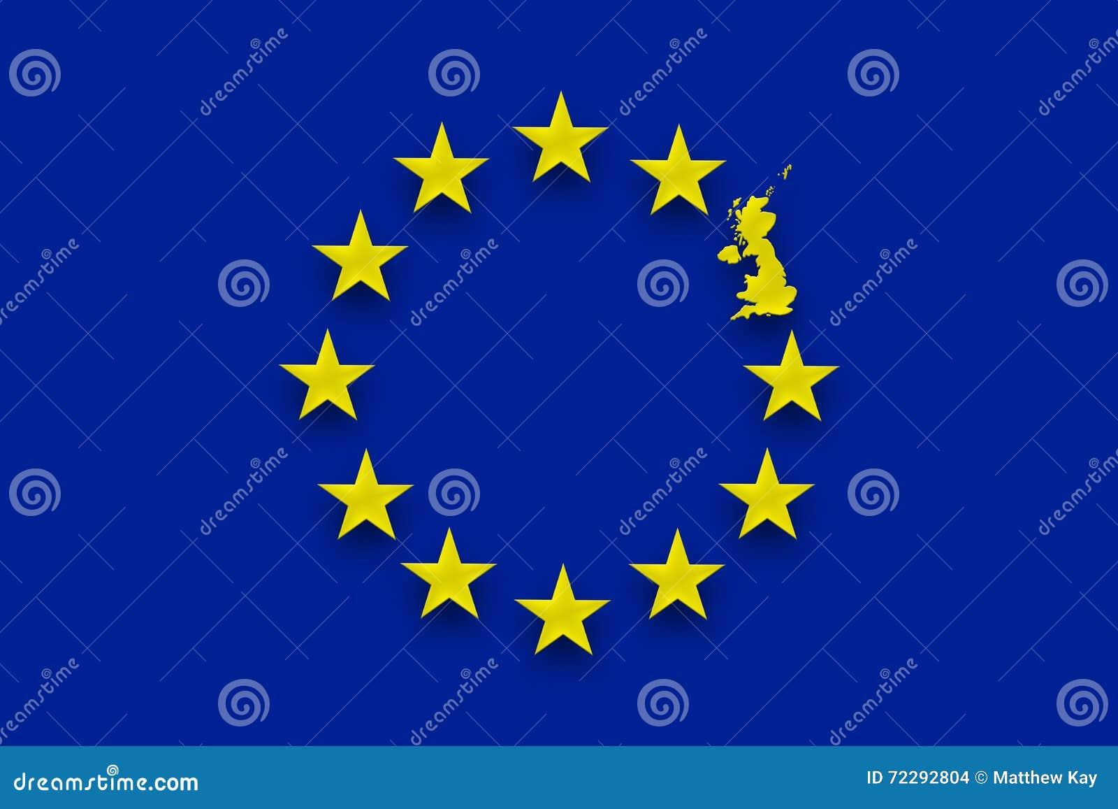 Download Референдум Великобритании Европейского союза Иллюстрация штока - иллюстрации насчитывающей независимость, нация: 72292804