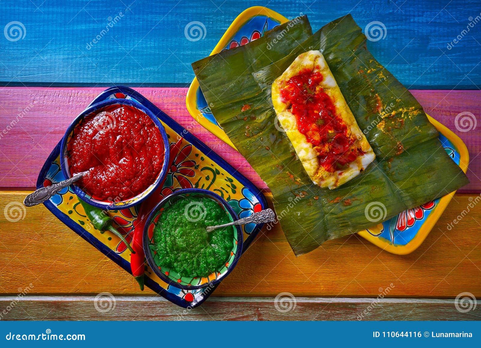 Рецепт тамале мексиканский с листьями банана