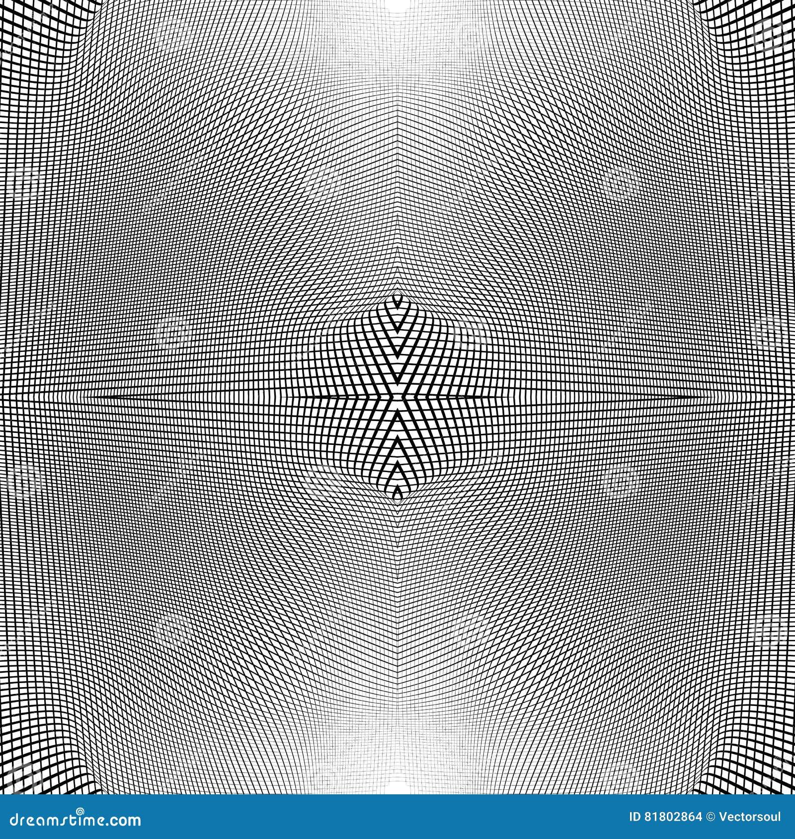 Решетка динамических линий Плавно repeatable картина сетки Disto