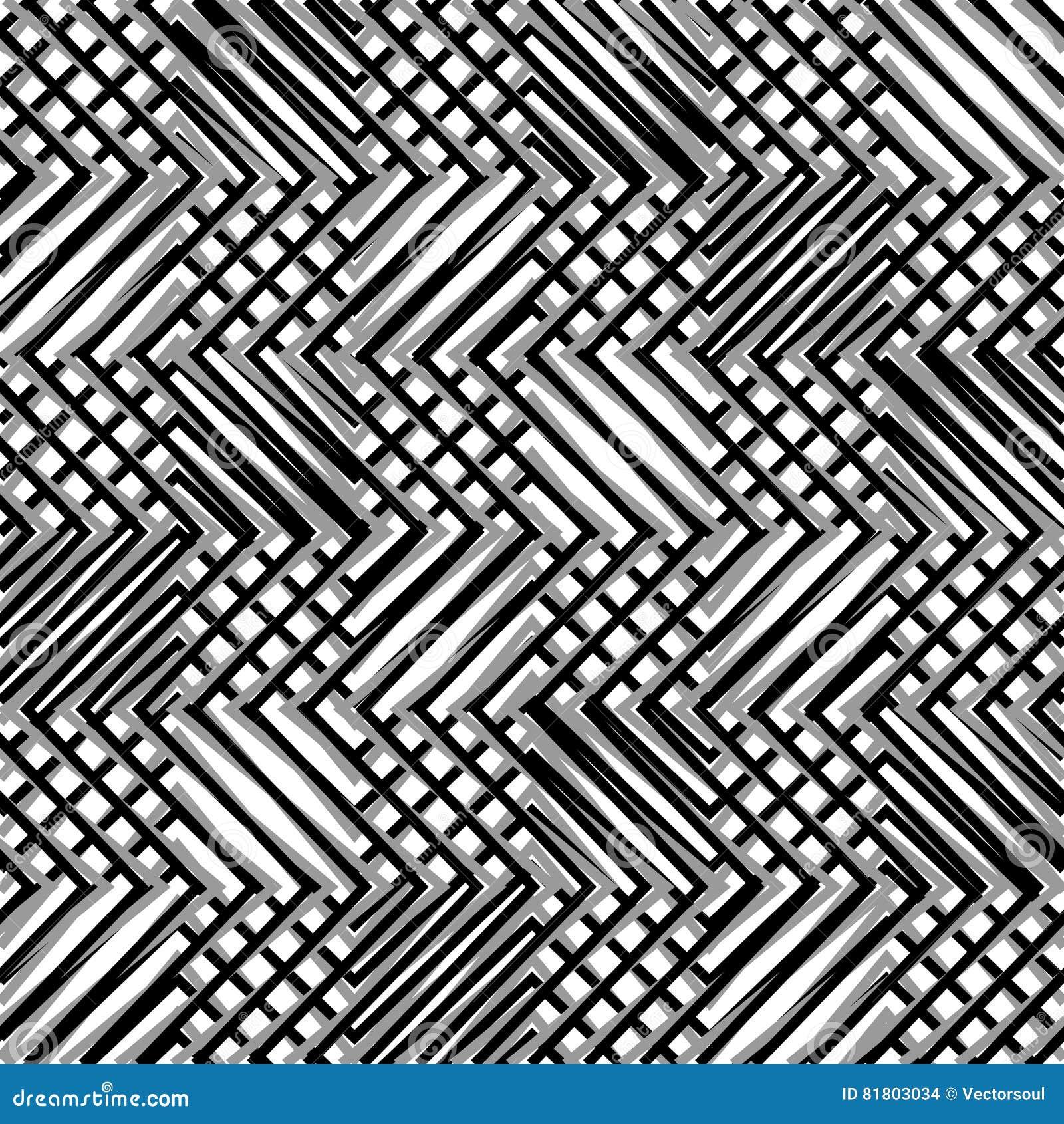 Решетка, сетка, зигзага, нервные линии Мозаика любит гриль, grating ба