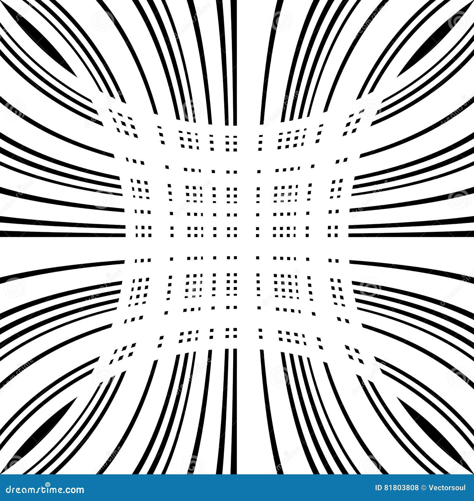 Решетка, сетка передернутых линий Геометрическая monochrome текстура