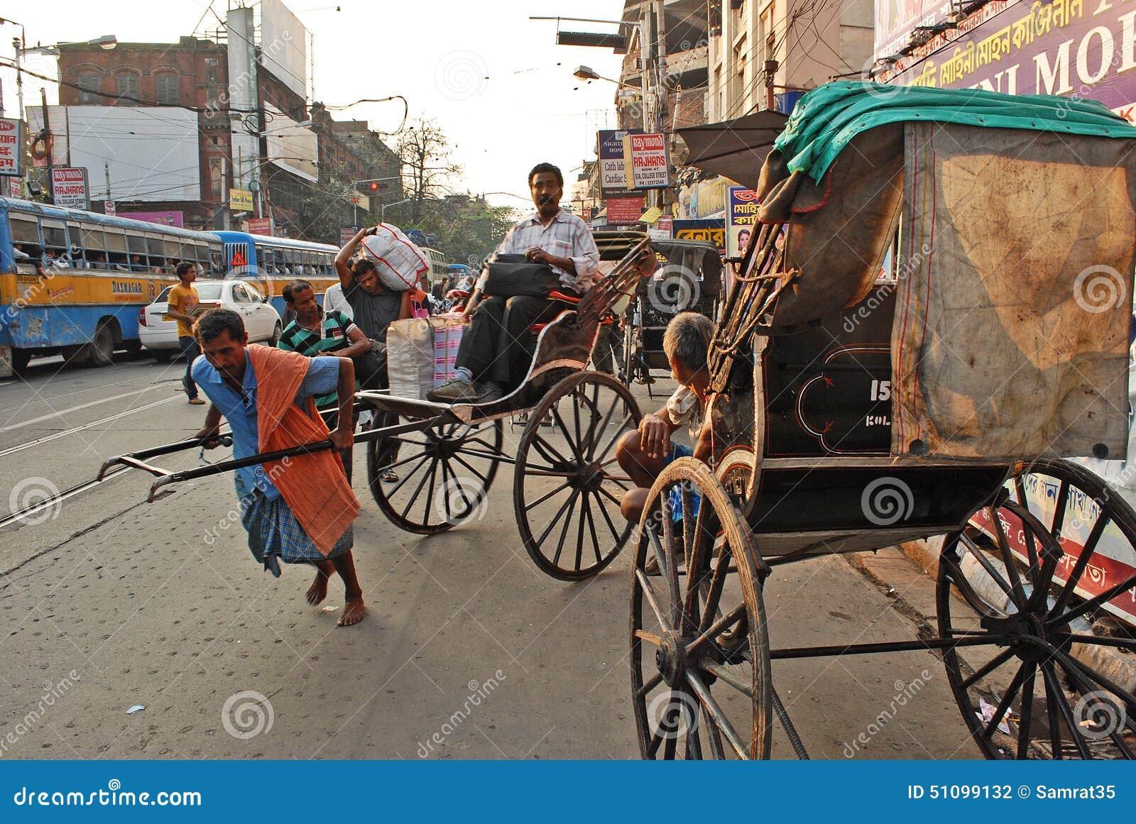 Рикша в Kolkata