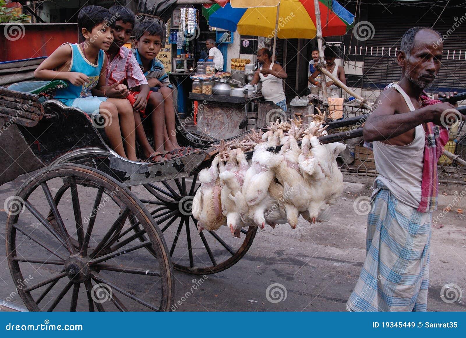 рикша пулера kolkata