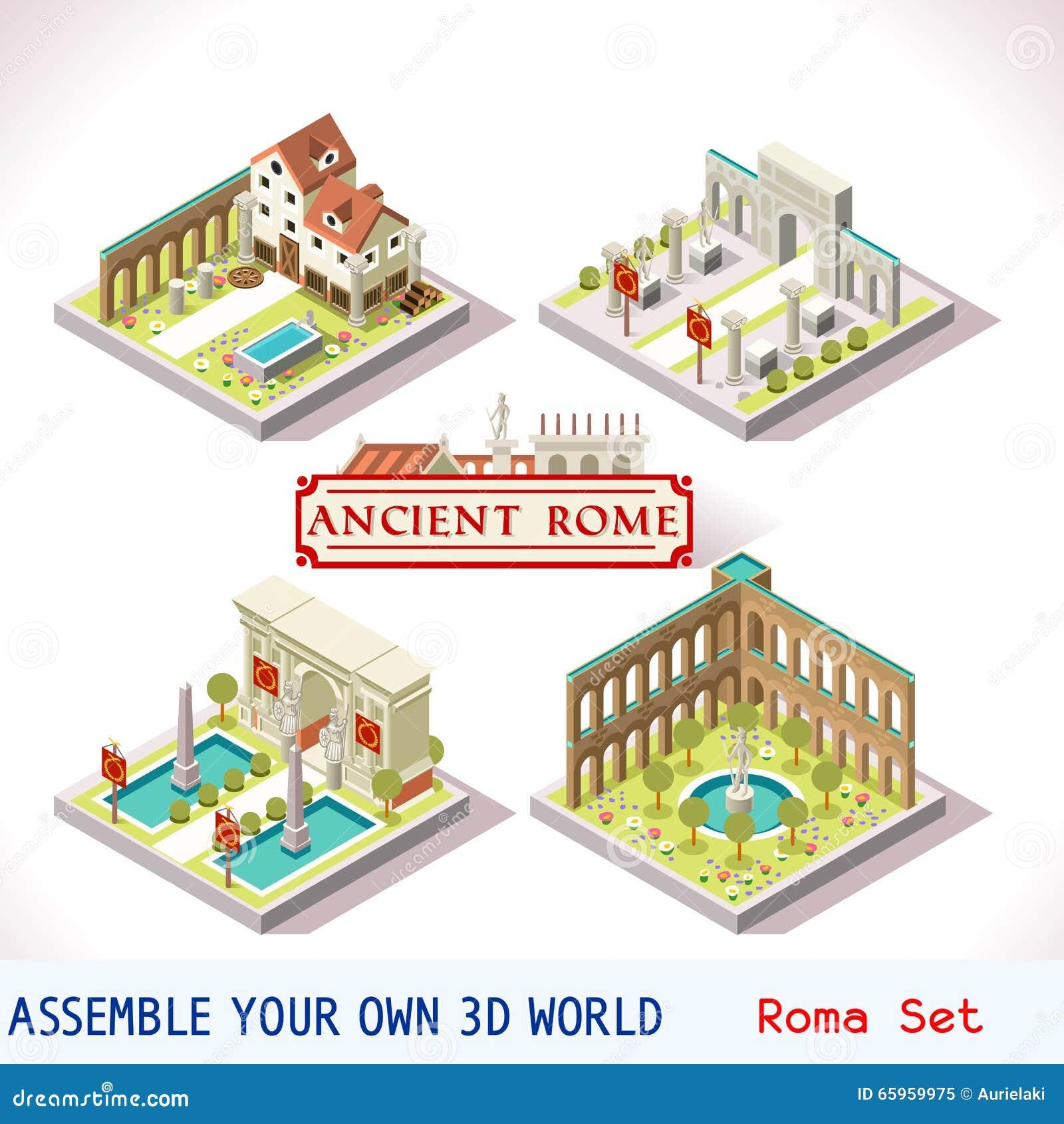 Римские 02 плитки равновеликой