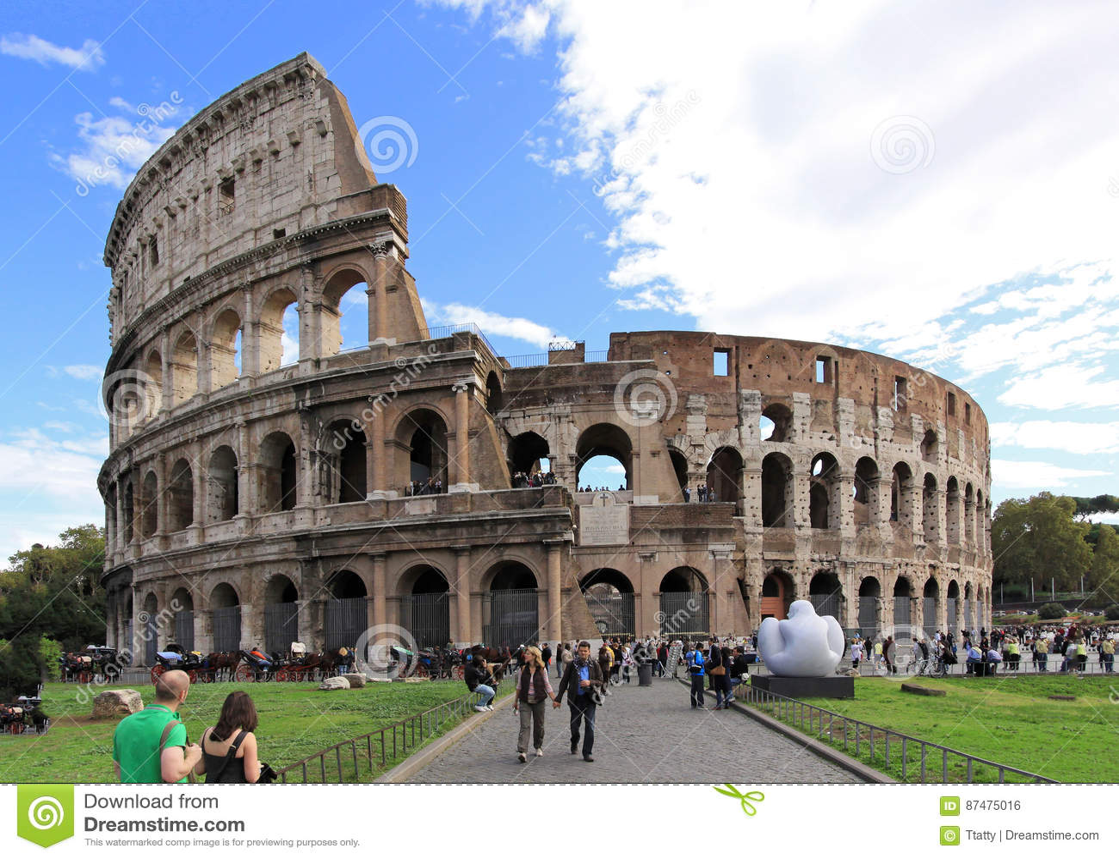 Римский вход Colosseum