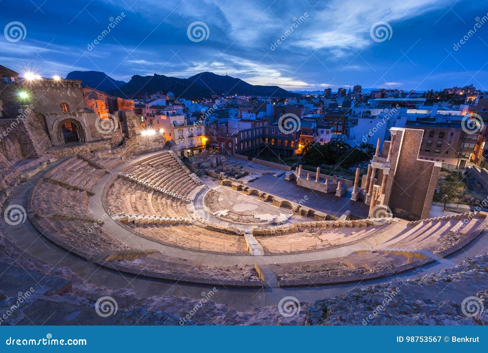 Римский театр в Cartagena