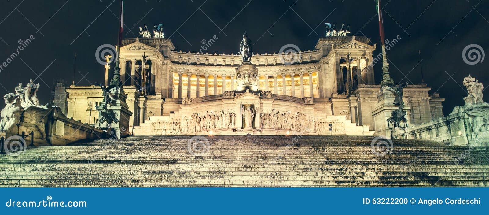 Рим, аркада Venezia, алтар отечества (Vittoriano)