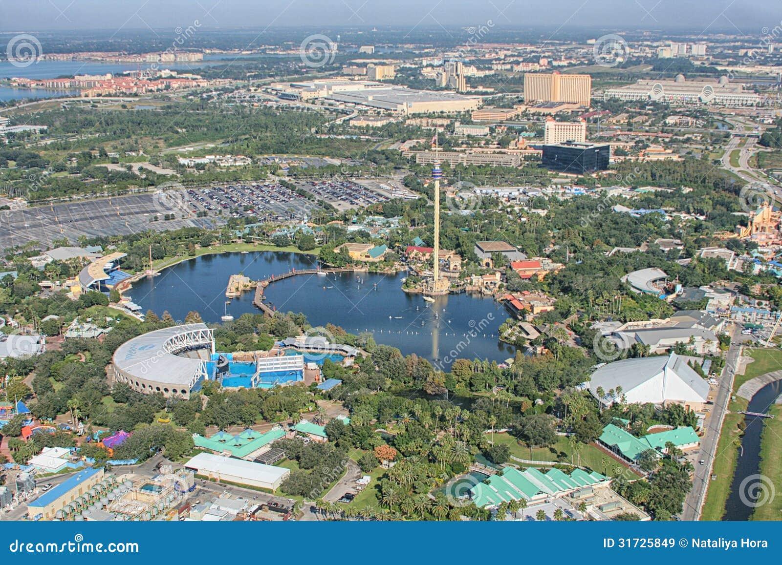 Рискуйте мир моря парка, Орландо, Флорида, США
