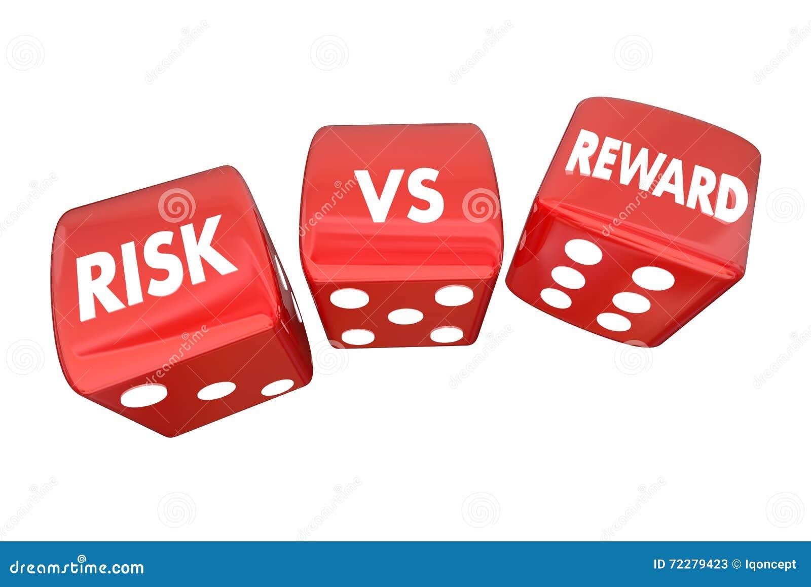 Download Риск против слов ROI кости завальцовки вознаграждением Иллюстрация штока - иллюстрации насчитывающей рисковано, взятие: 72279423