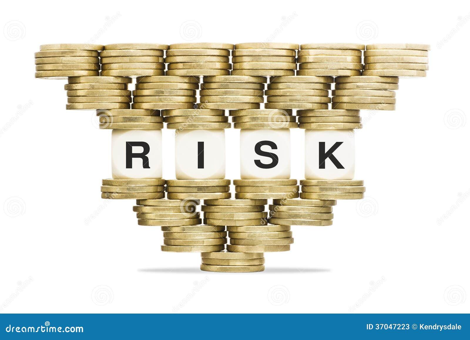 Риск слова управление при допущениеи риска на неустойчивом стоге золотых монеток