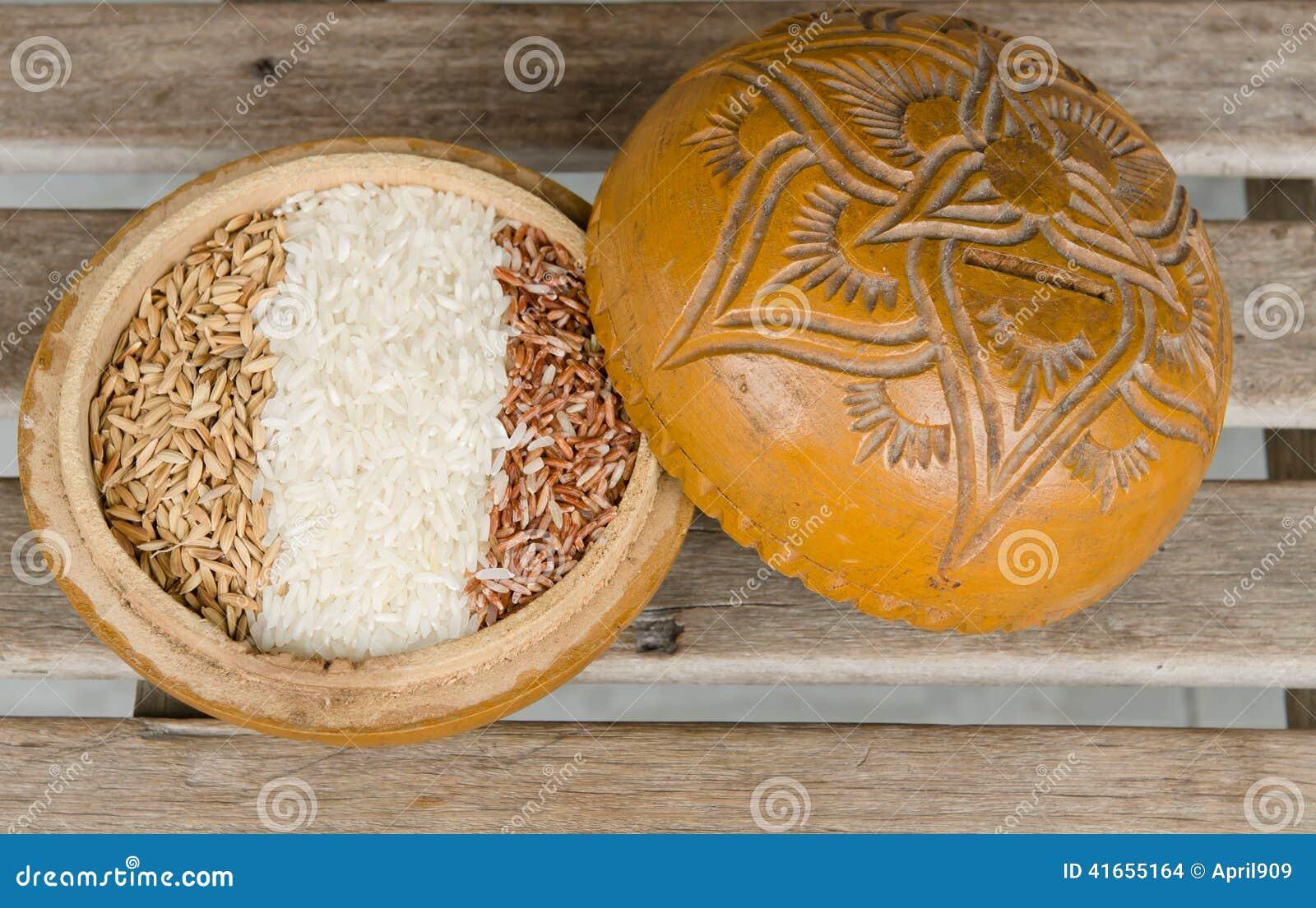 Рисы в деревянном шаре