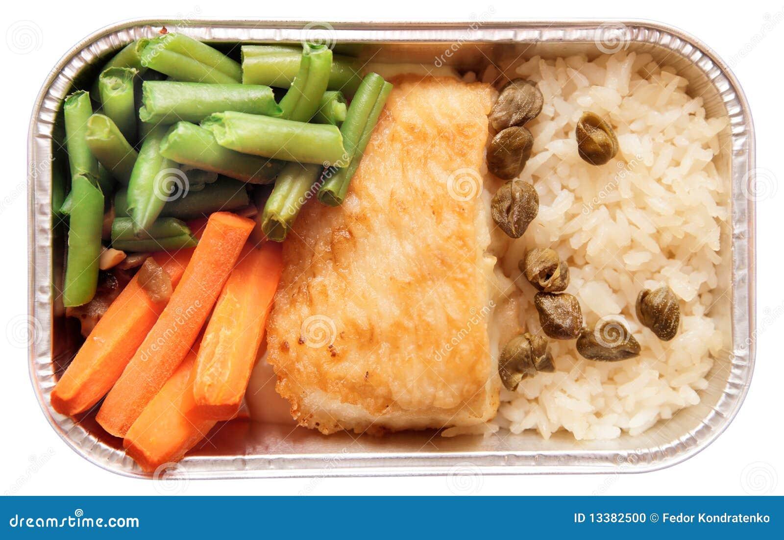 рис еды рыб авиакомпании