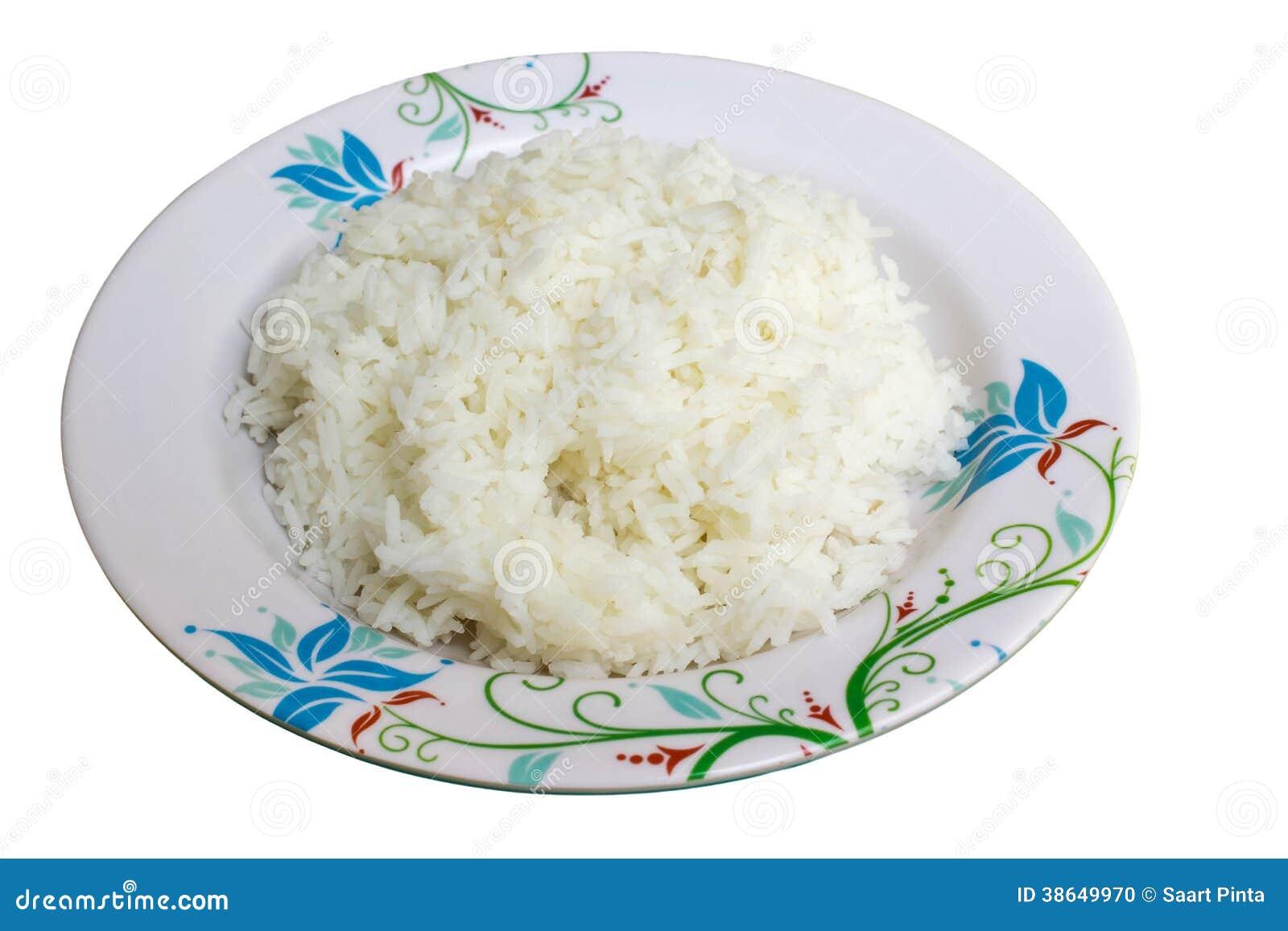 Рис и блюдо