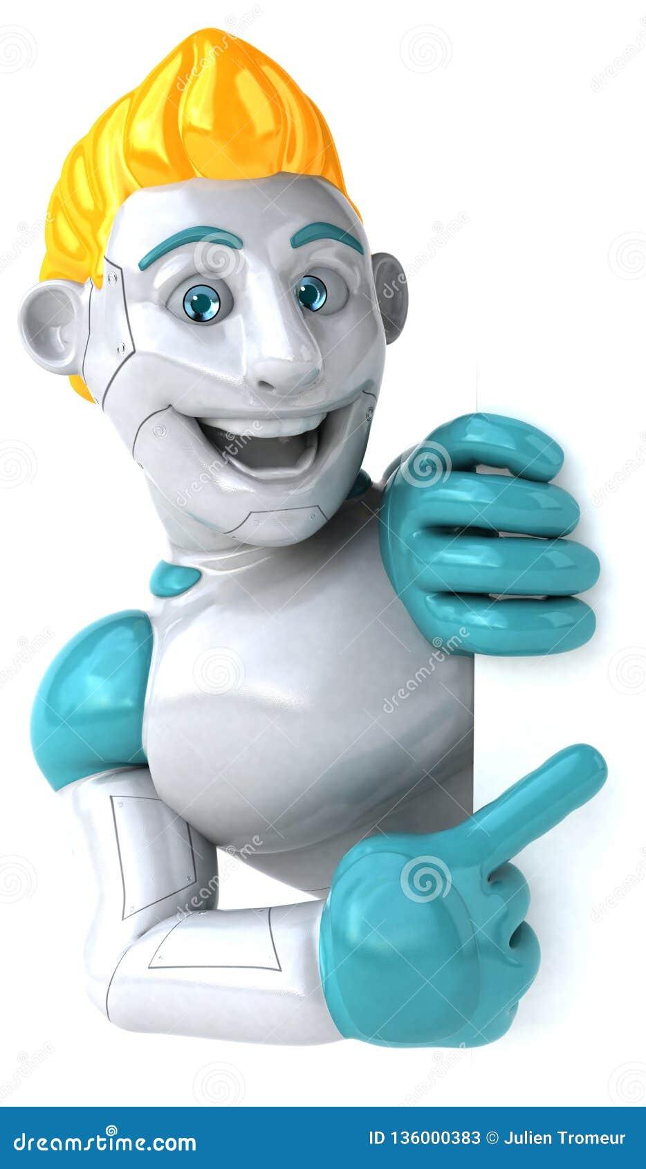 Робот - иллюстрация 3D